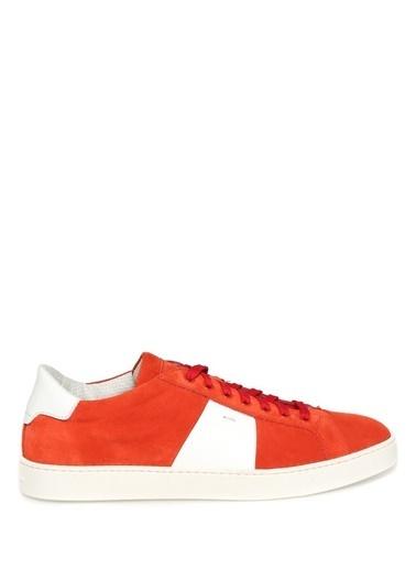 Santoni Lifestyle Ayakkabı Kırmızı